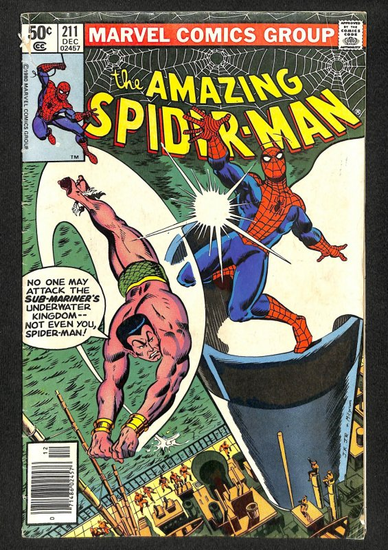 The Amazing Spider-Man #211 (1980)