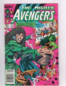 The Mighty Avengers #241 VF Marvel Comics Comic Book She-Hulk Mar 1984 DE42