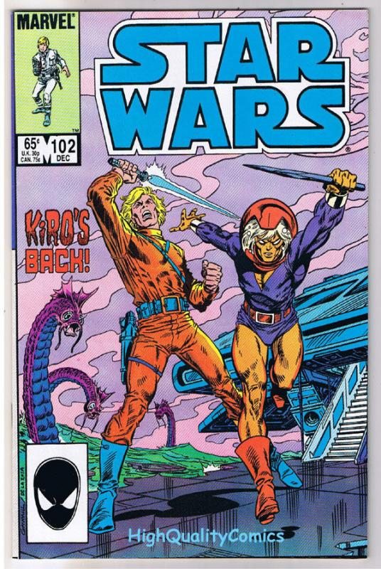 1st SERIES 1977 STAR WARS #102 FINE