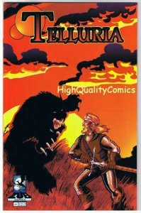 TELLURIA #1, Indy, Zub Comics, 1994, NM