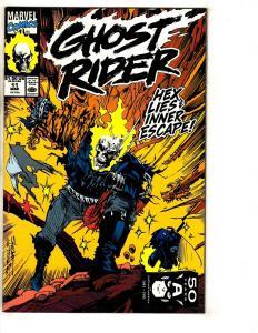 10 Ghost Rider Marvel Comic Books # 11 12 13 14 15 16 17 18 19 20 Avengers CR32