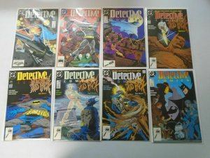 Detective Comics lot 45 different from #601-649 avg 8.0 VF (1989-92)
