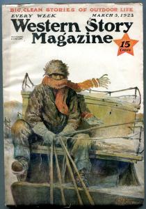 Western Story Magazine Pulp March 3 1923- Robert J Horton FN