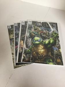 Teenage Mutant Ninja Turtles Universe 1 2 3 5 Lot Set Run Nm Near Mint IDW