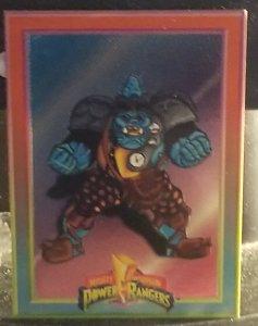 1994 Mighty Morphin Power Rangers Foil #3