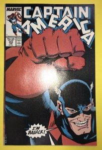 Captain America #354  MCU 1st App Of John Walker U.S. Agent -Disney+ Falcon & WS