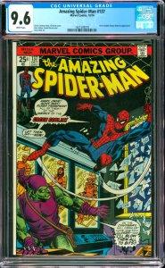 The Amazing Spider-Man #137 CGC Graded 9.6 Green Goblin (Harry Osborn) appear...