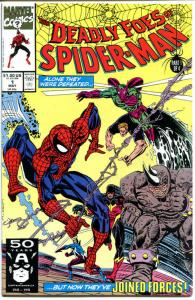 DEADLY FOES OF SPIDER-MAN #1 2 3 4, NM+, Goblin, Sandman, Rhino, 1991