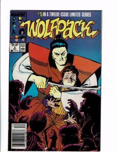 Lot of 6 Wolfpack Marvel Comics #5 6 7 8 10 11 J130