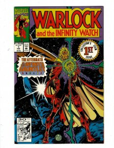 Lot of 12 Warlock and the Infinity Watch Comics #1 2 3 4 5 6 7 8 9 10 11 12 GK48