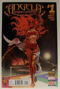 ANGELA: Asgard's Assassin #1 - 1st Appearance of Sera and Laussa (Thor's Sis)!
