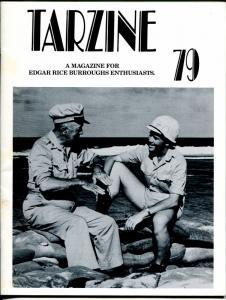Tarzine #79 11/1990-McGuigan-Edgar Rice Burroughs-Tarzan-Hurlbert Burroughsr-VF