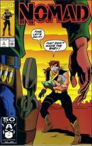 Marvel NOMAD (1990 Series) #3 NM
