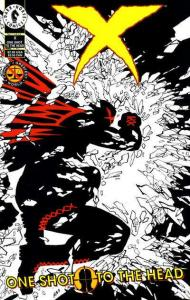 X (1994 series) One Shot to the Head #1, VF+ (Stock photo)
