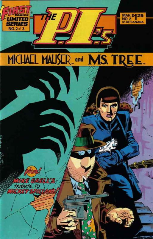 P.I.'s, The: Michael Mauser and Ms. Tree #2 VF/NM; First | save on shipping - de