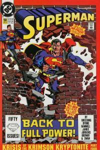 Superman (1987 series) #50, VF+ (Stock photo)