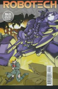 Robotech #5 VF/NM; Antarctic | save on shipping - details inside