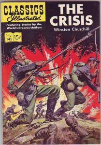 Classics Illustrated #145 (Jul-58) FN Mid-Grade