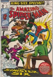 Amazing Spider-Man, King-Size Annual #6 (Nov-69) VF/NM High-Grade Spider-Man