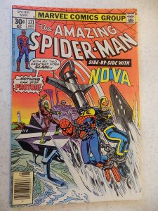 AMAZING SPIDER-MAN # 171 MARVEL ACTION ADVENTURE