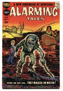 Alarming Tales #3 1958- Joe Simon - Jack Kirby - Horror FN-