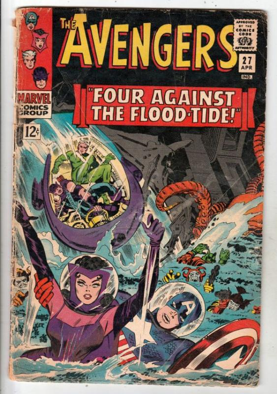 Avengers, The #27 (Apr-66) GD Affordable-Grade Avengers