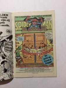 Spectacular Spider-man 3 1st First App. Of Cloak & Dagger F/VF Dutch Variant