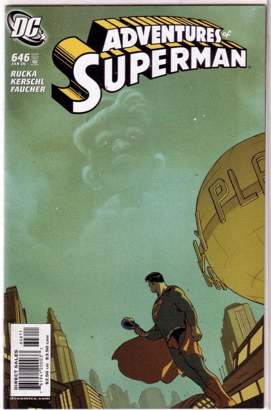 Adventures of Superman   vol. 1   #646 VF