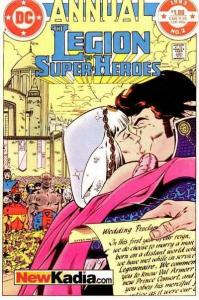 Legion of Super-Heroes (1980 series) Annual #2, VF (Stock photo)