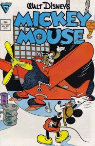 Mickey Mouse (Walt Disney's…) #233 FN; Dell   save on shipping - details inside