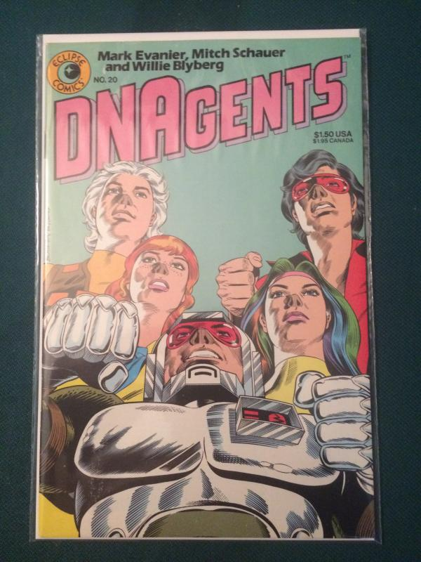 DNAgents #20 vol 1