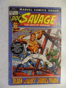 DOC SAVAGE # 1 MARVEL PULP ACTION ADVENTURE