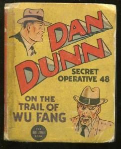 DAN QUINN SECRET OPERATIVE 48-BIG LITTLE BOOK-#1454-1937-WU FANG-fr/good