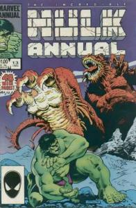 Incredible Hulk (1968 series) Annual #13, VF+ (Stock photo)