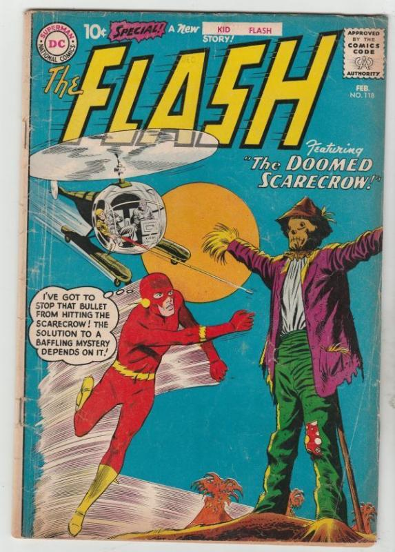 The Flash 118 strict VG+ 4.5 very early Kid Flash Story tons more just listed