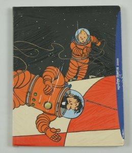 Agenda Tintin 2000 VF/NM day planner - herge art - unused