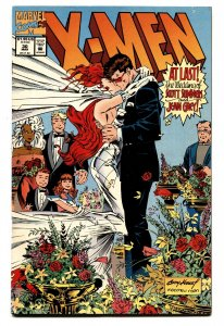 X-Men #30 1994- Marvel -Wedding cover- Jean Grey & Scott Summers