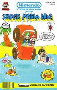 Nintendo Comics System (2nd Series) #5 VF/NM; Valiant | save on shipping - detai