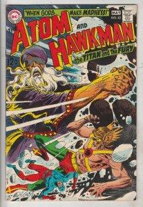 Atom and Hawkman #42 (May-69) NM- High-Grade The Atom, Hawkman