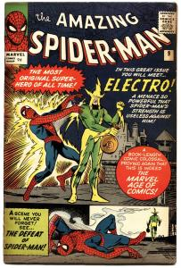 AMAZING SPIDER-MAN #9-UK EDITION-1964-FIRST ELECTRO- HIGH GRADE!