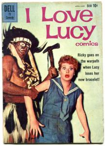 I Love Lucy #27 1960- Dell Comics- Lucille Ball photo cover VG