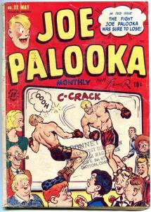 Joe Palooka #32 1949-Harvey Golden Age-MAN O' WAR HORSE RACE STORY FR/G
