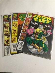 Iron Fist 1-3 1 2 3 Lot run set Near mint nm Marvel