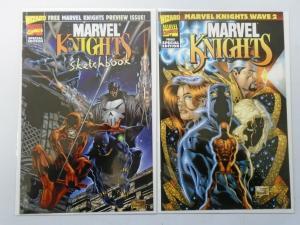 Marvel Knights Sketchbook, Set:#0+1, 8.0/VF (1998)