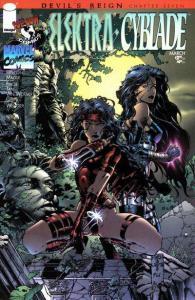 Elektra (1996 series) Cyblade #1, NM + (Stock photo)