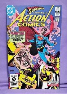 Bob Rozakis Superman ACTION COMICS #547 Curt Swan Bronze Age (DC, 1983)!