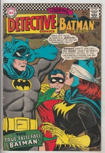 Detective Comics #363 (May-67) VG/FN+ High-Grade Batman
