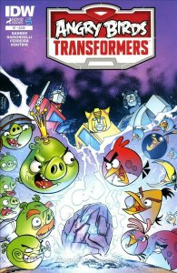 Angry Birds Transformers #1 VF/NM; IDW | save on shipping - details inside