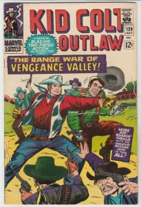Kid Colt Outlaw #129 (Jul-66) NM- High-Grade Kid Colt