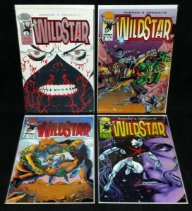 Wildstar #1,2,3,4 Set (Image, 1993) VF/NM